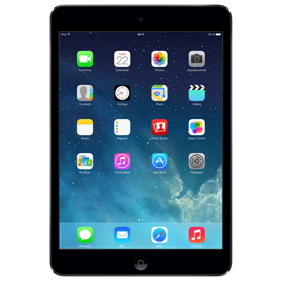 r paration ipad mini 16 gb gris sid ral wifi iphone reconditionn reconditionn. Black Bedroom Furniture Sets. Home Design Ideas